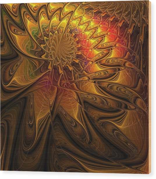 The Midas Touch Wood Print