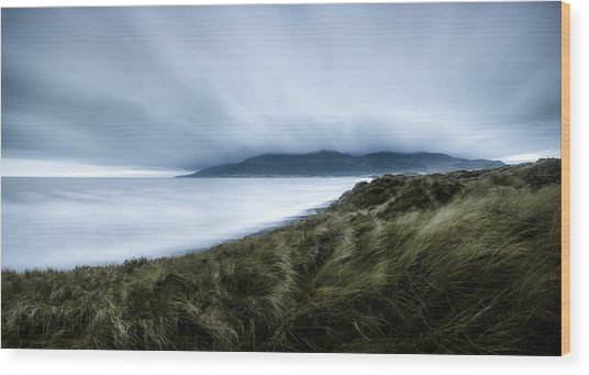 The Misty Mountains Of Mourne Wood Print