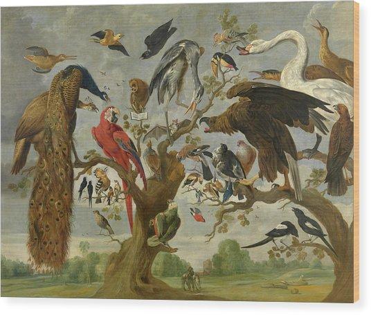 The Mockery Of The Owl Wood Print