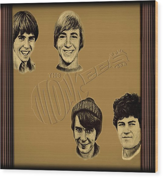 The Monkees  Wood Print