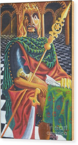 The Moorish General  Othello Wood Print