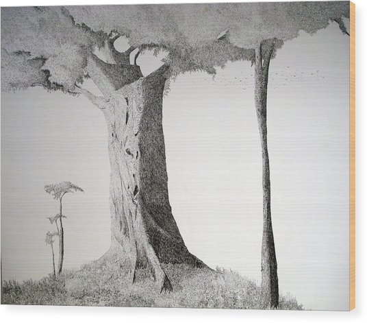 The Mother Lode Wood Print