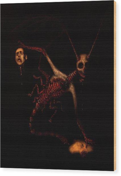 The Murder Bug - Artwork Wood Print