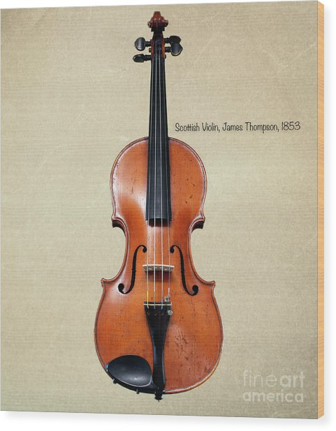 The Music Of 1853 Wood Print by Steven Digman