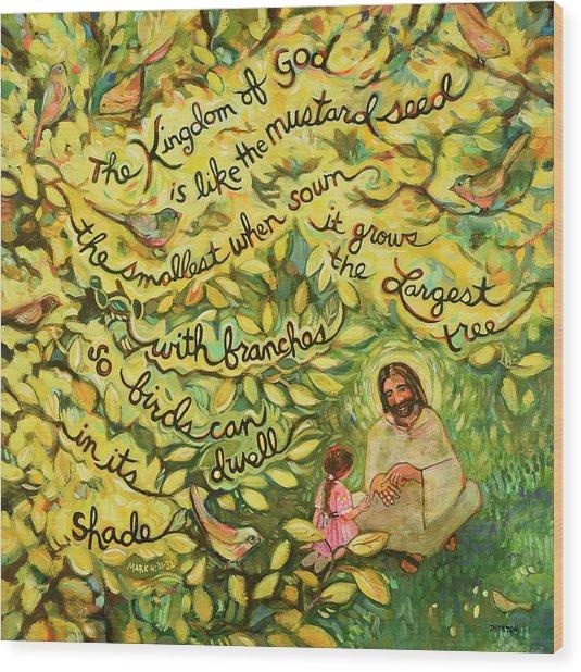 The Mustard Seed Wood Print