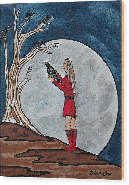 The Mystical Experience Wood Print by Deidre Firestone