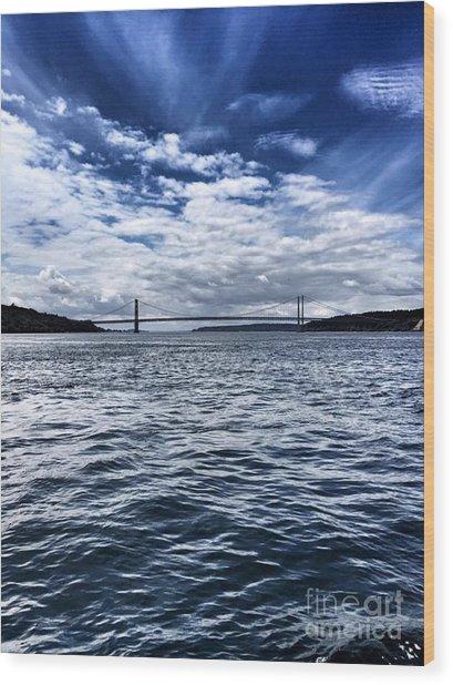 The Narrows Bridge  1 Wood Print