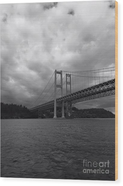 The Narrows Bridge Wood Print