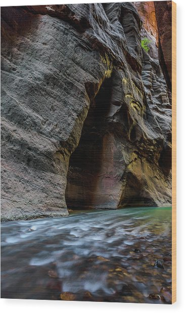 Zion Narrows Wood Print