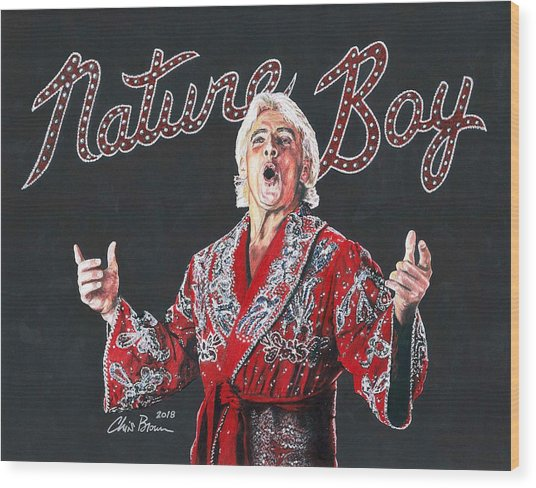 The Nature Boy, Ric Flair Wood Print