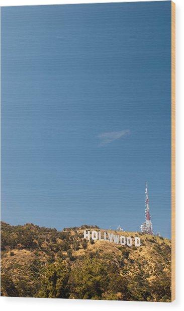 The Nora Ephron Shot - Beachwood Canyon Wood Print