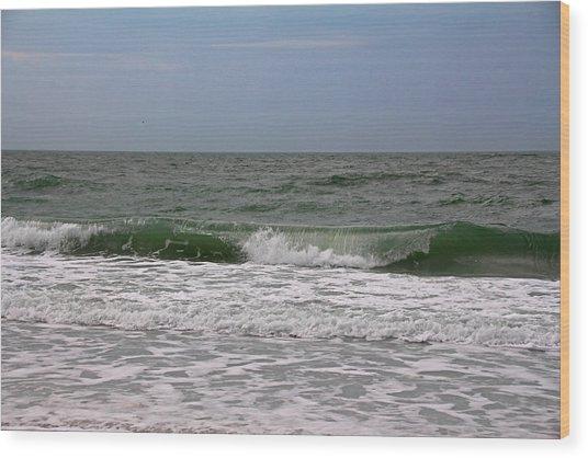 The Ocean In Motion Wood Print