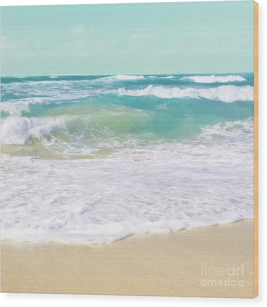 Wood Print featuring the photograph The Ocean by Sharon Mau