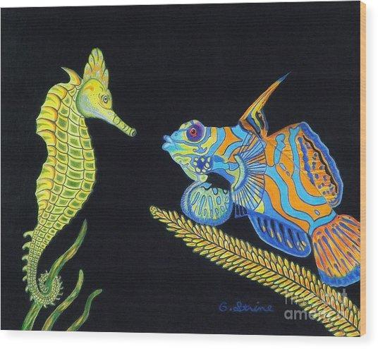 The Odd Couple Wood Print