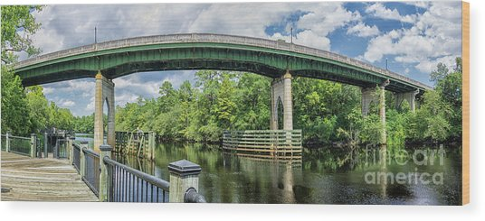 The Old Conway Bridge Wood Print
