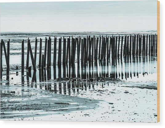 The Old Docks Wood Print