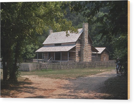 The Old Homeplace - 1 Wood Print by Randy Muir