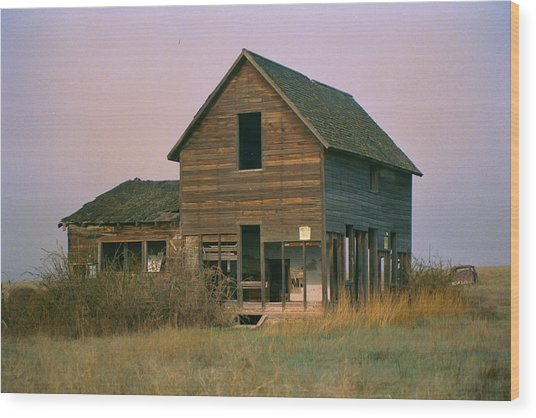 The Old Homestead Wood Print by JoJo Photography