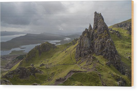 The Old Man Of Storr, Isle Of Skye, Uk Wood Print