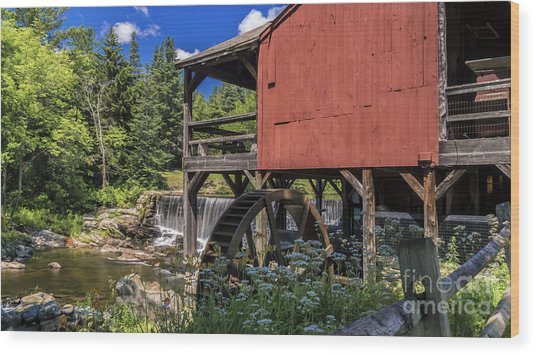 The Old Mill Museum. Wood Print