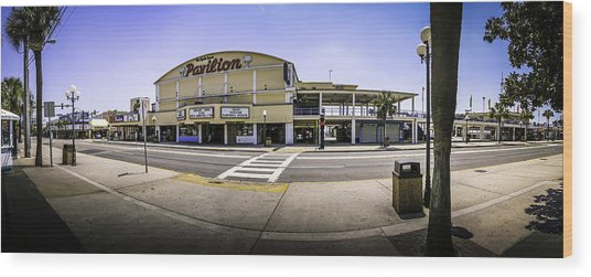 The Old Myrtle Beach Pavilion Wood Print