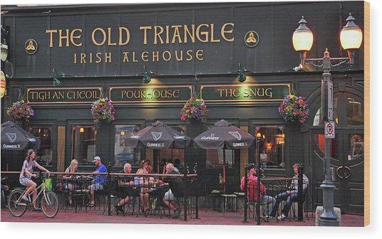The Old Triangle Alehouse Wood Print