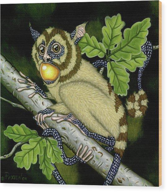 The Orbler Wood Print