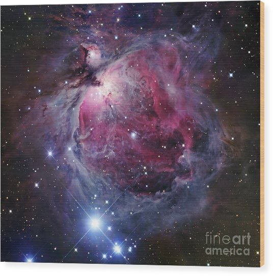 Wood Print featuring the photograph The Orion Nebula by Robert Gendler