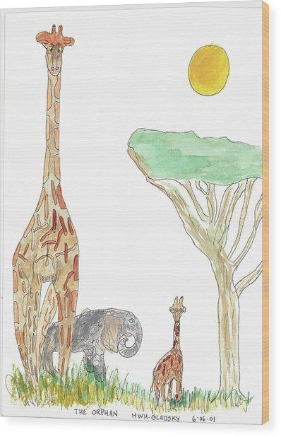 The Orphan Wood Print