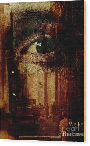 The Overseer Wood Print