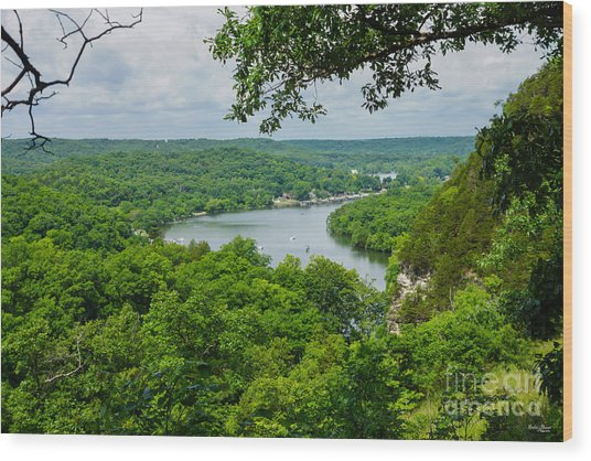 The Ozarks Wood Print