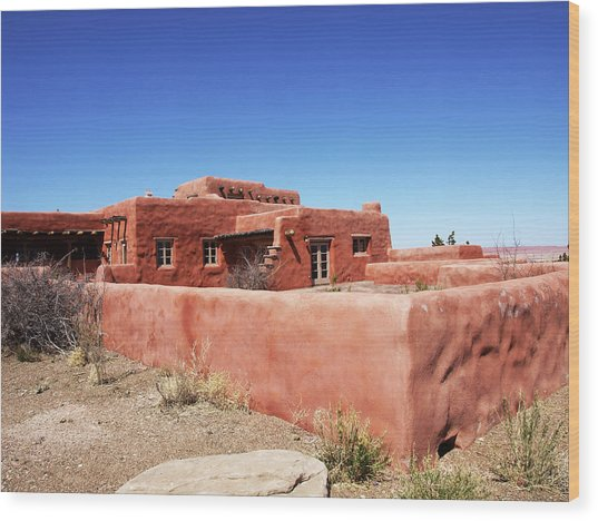 The Painted Desert Inn Wood Print
