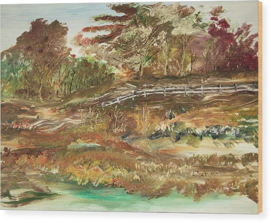 The Park Wood Print by Edward Wolverton