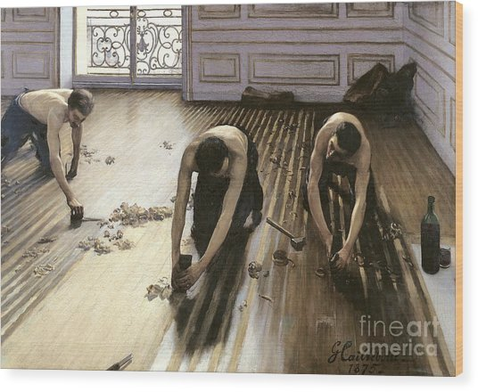 The Parquet Planers Wood Print