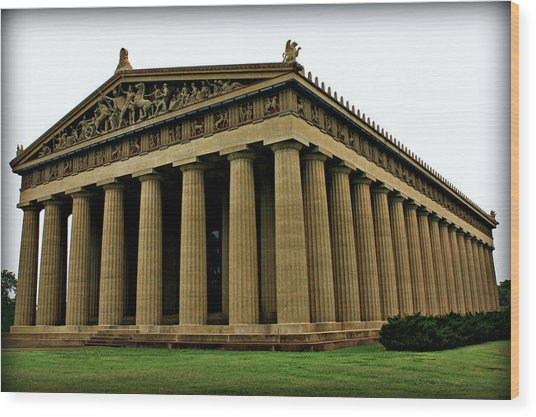 The Parthenon 2 Wood Print