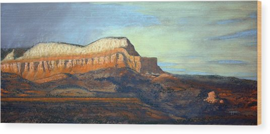 The Parthenon Wood Print by Carl Capps