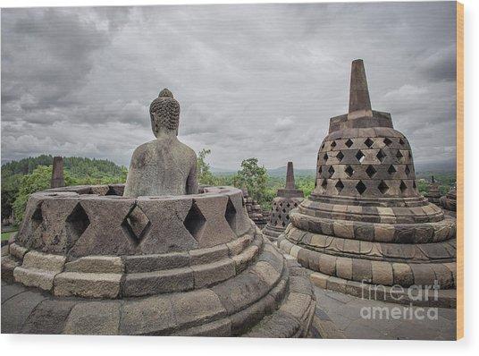 The Path Of The Buddha #5 Wood Print