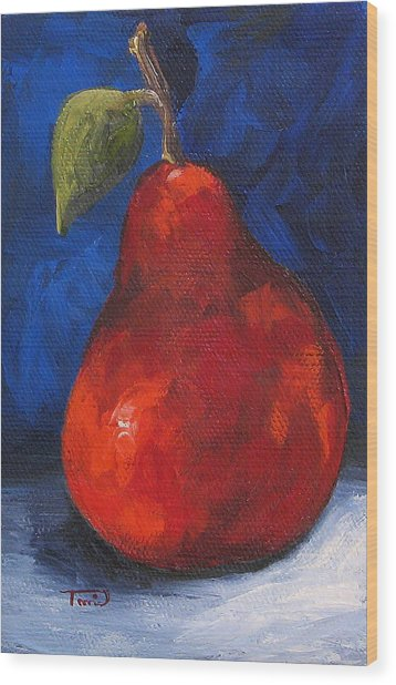 The Pear Chronicles 007 Wood Print by Torrie Smiley