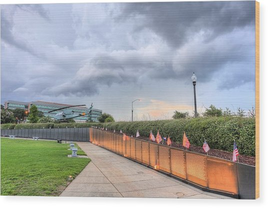 The Pensacola Vietnam Wall Wood Print by JC Findley