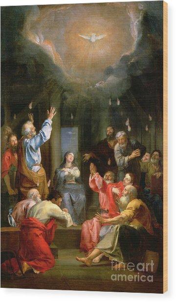 The Pentecost Wood Print