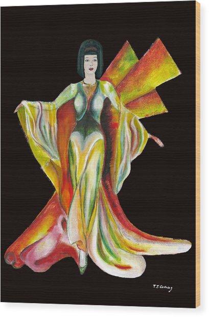 The Phoenix 2 Wood Print