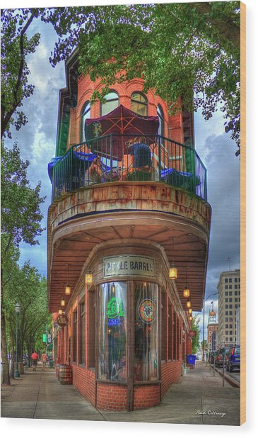 The Pickle Barrel Chattanooga Tn Art Wood Print