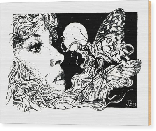 The Poet In My Heart Wood Print