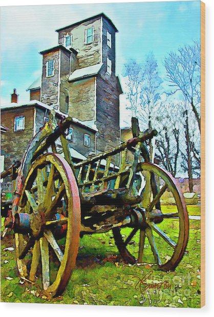 The Pottery - Bennington, Vt Wood Print