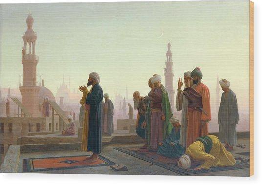 The Prayer Wood Print
