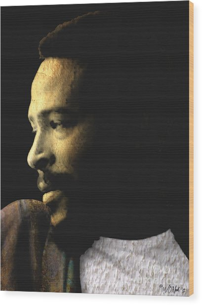 The Prince Of Soul - Marvin Gaye Wood Print