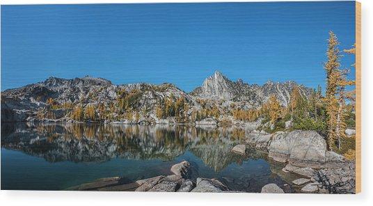 The Quiet Moment In Leprechaun Lake Wood Print
