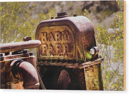 The Radiator Wood Print