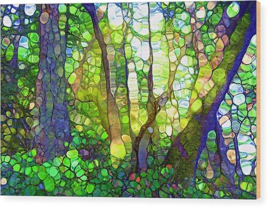 The Rainforest Wood Print