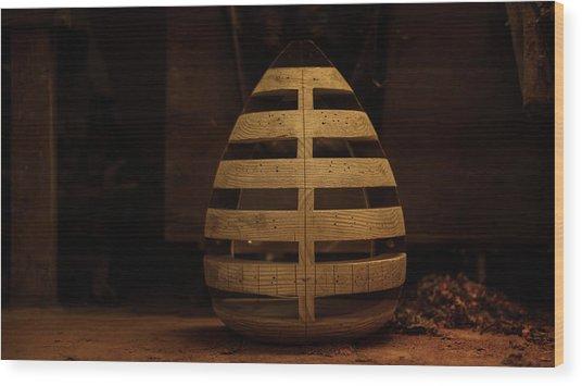 The Ribcage Wood Print